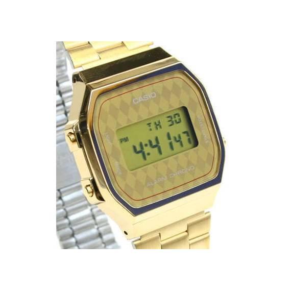 Reloj Casio Retro Vintage Dorado A168WG-9BWEF Oficial
