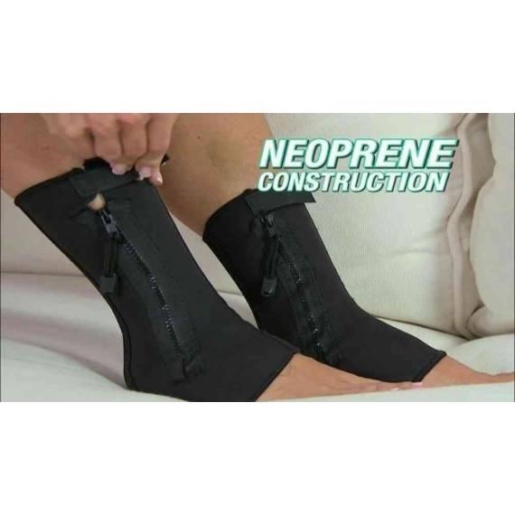 Tobillera de compresión con Cremallera Ankle Gennie Support