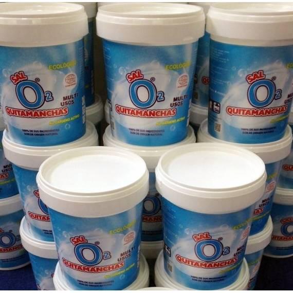 Sal O2 Quitamanchas Oxígeno Activo