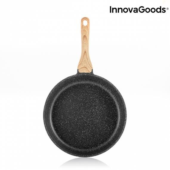 Sartén Premium Granite-Effect InnovaGoods (24 cm)