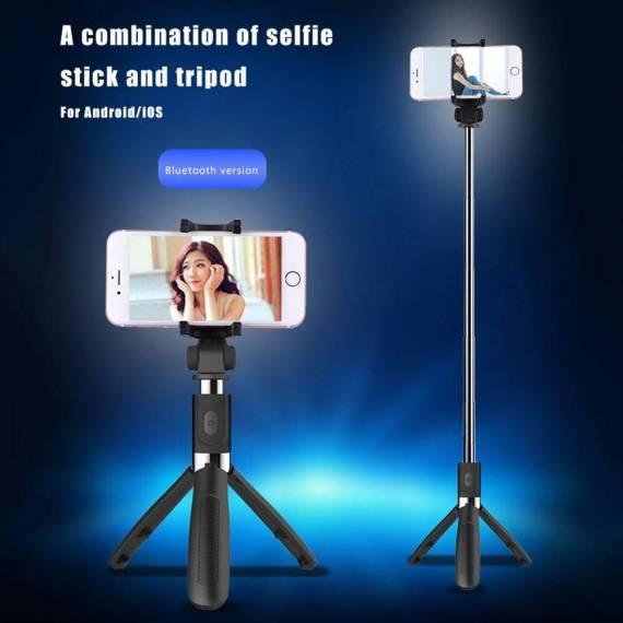 Palo Selfie Extensible con mando a distancia