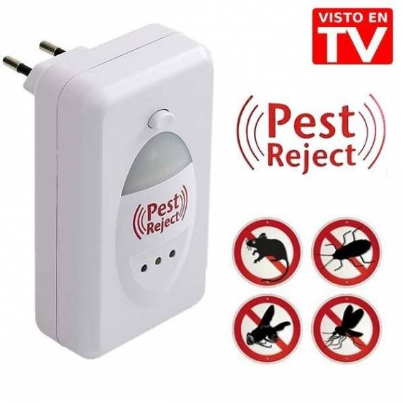 ahuyentador moscas roedores insectos pest reject anunciado outlet tv teletienda