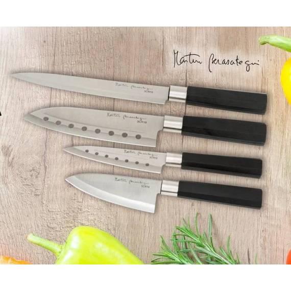 Set de 4 Cuchillos de Acero Martín Berasategui