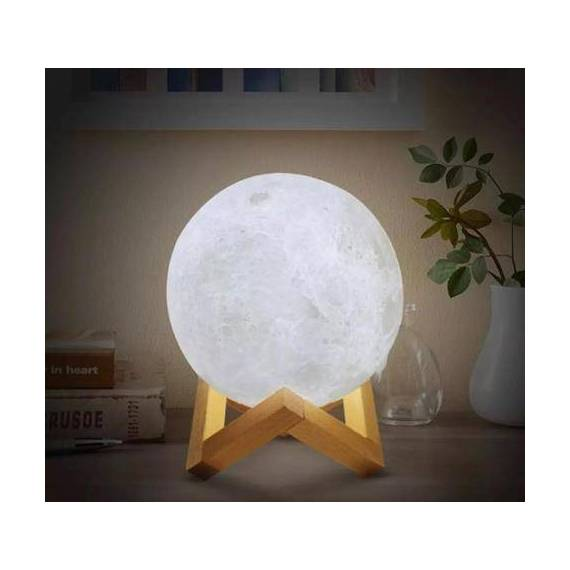 Lámpara Led 3D Luna