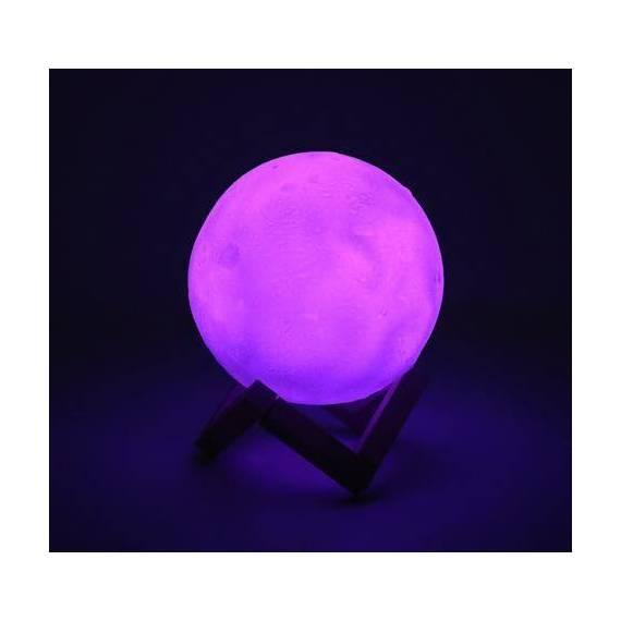 Lámpara Led 3D Luna teletienda outlet anunciado tv