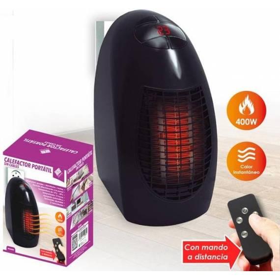 Calefactor Portátil con Mando Distancia teletienda outlet anunciado tv