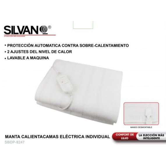 Manta eléctrica Individual 150x80