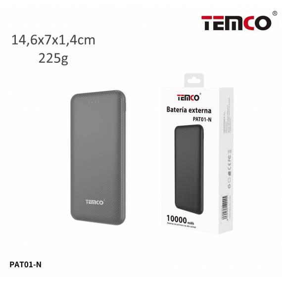 Bateria Externa 10000mAh PAT01-N teletienda outlet anunciado tv