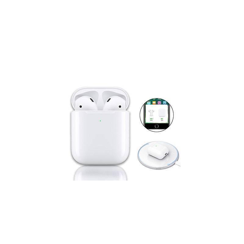 Auriculares Bluetooth con Powerbank y carga Inalámbrica