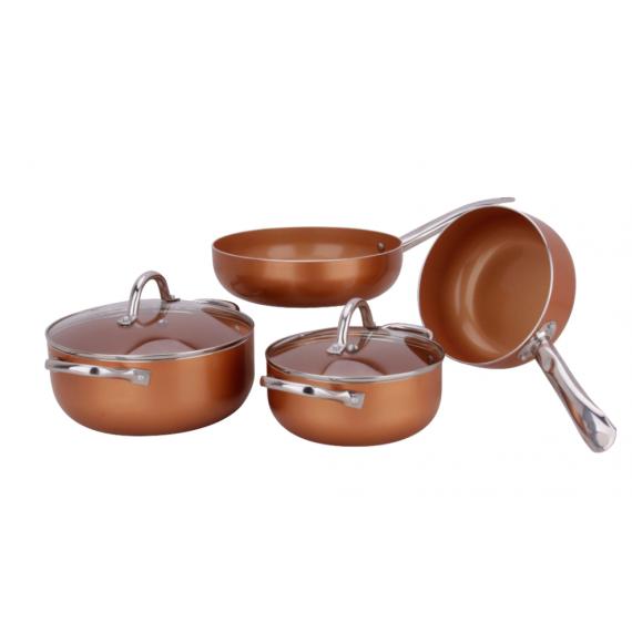 Batería de Cocina Vital Copper teletienda outlet anunciado tv