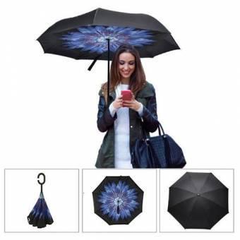 Paraguas de Cierre Inverso Reversible