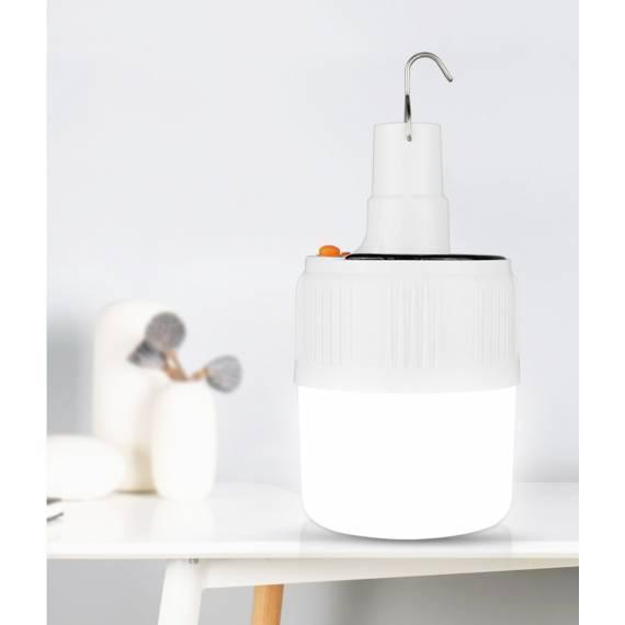 Lámpara Solar de Emergencia Recargable