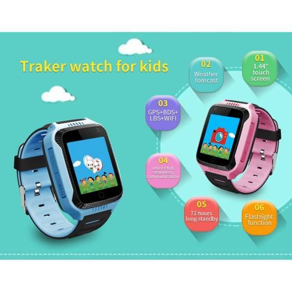 Smartwatch Infantil GPS