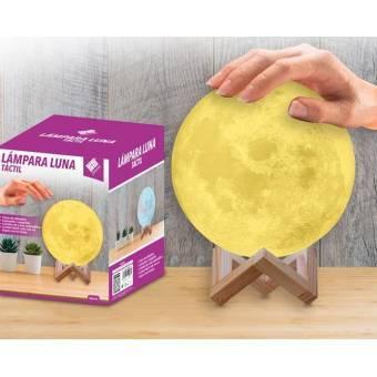 Lámpara Luna Táctil teletienda outlet anunciado tv