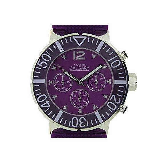 Reloj Calgary Morado San Remo