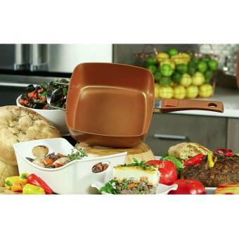Sarté Cuadrada Cobre Starlyf Copper Pan