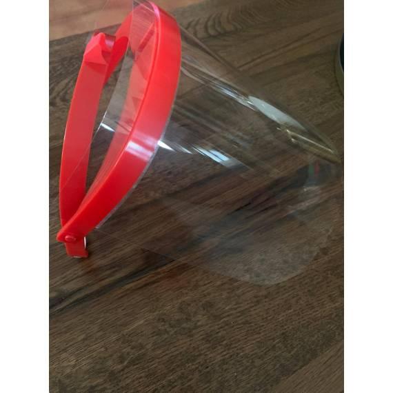 Pantalla protectora transparente reutilizable