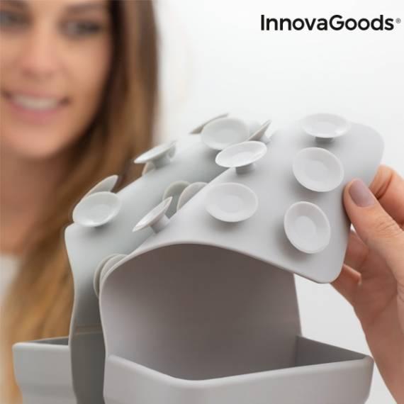 Soporte Organizador de Silicona con Ventosas InnovaGoods