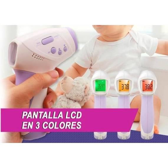 Termómetro digital infrarrojos sin contacto + teletienda outlet anunciado tv