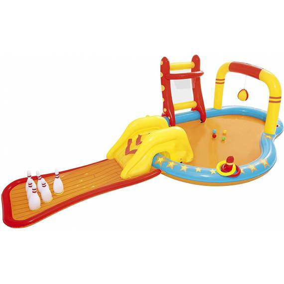 Parque-Piscina Hinchable Infantil Lil' Champ 435x213x117 cm + teletienda outlet anunciado tv