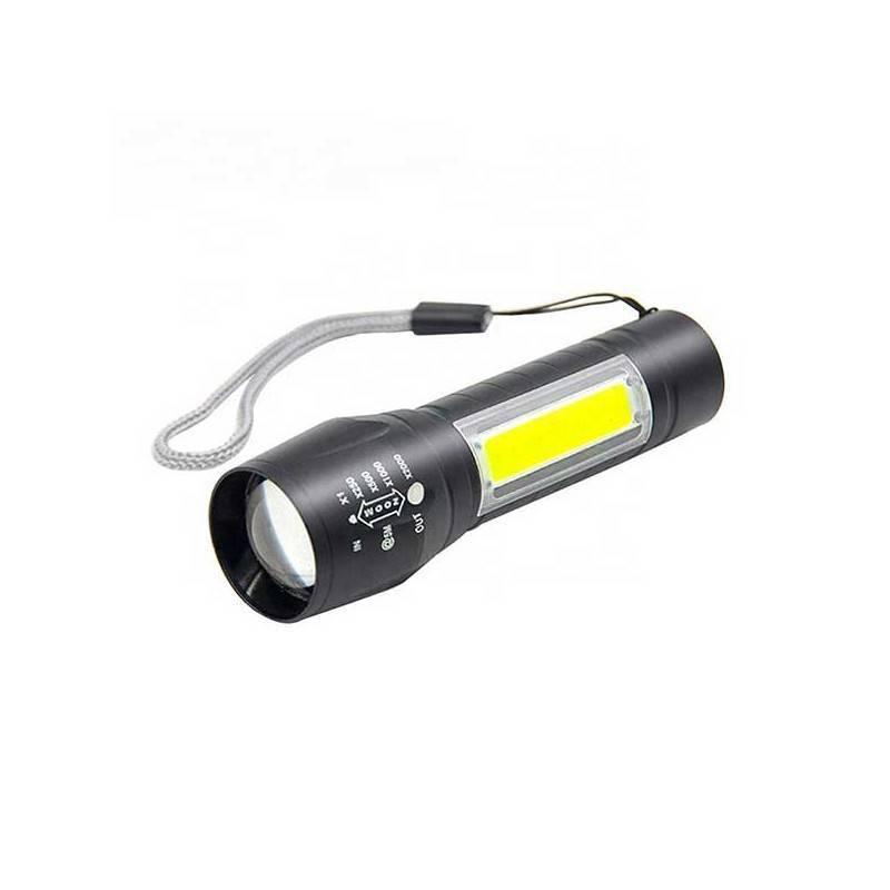 Linterna MINI LED COB 2 en 1 aluminio recargable + teletienda outlet anunciado tv
