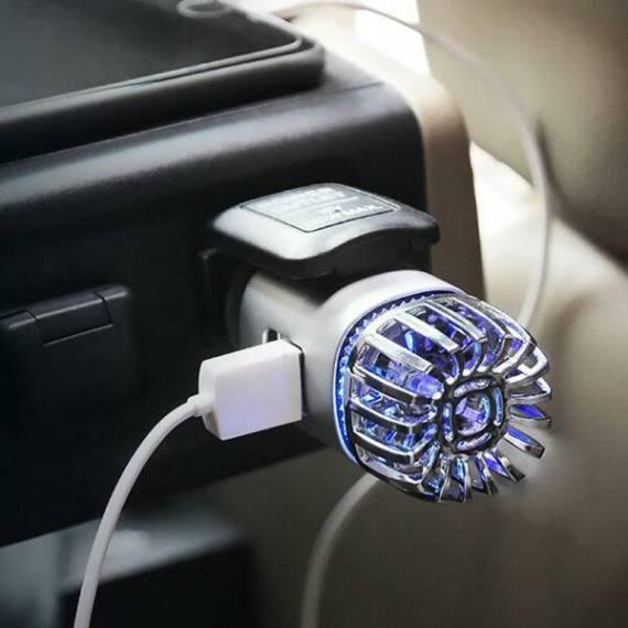 Genereador de ozono purificador de aire para coche