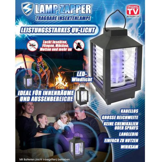 Farolillo Antimosquitos Lamp Zapper