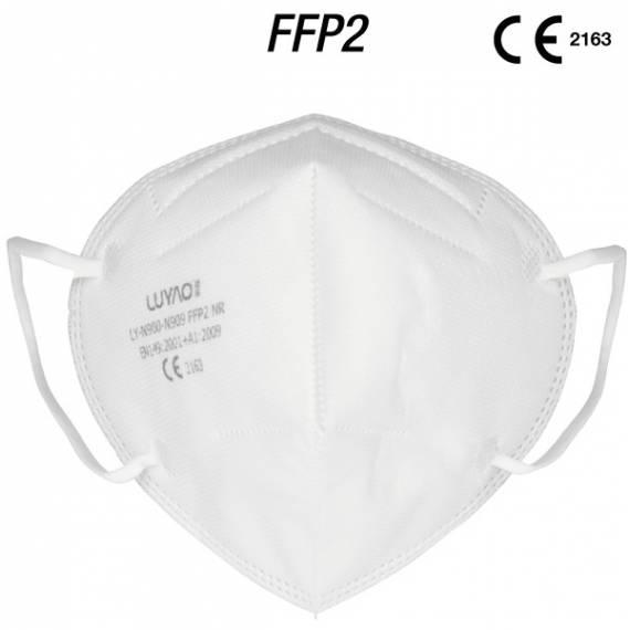 Mascarilla protectora facial Protección Fpp2