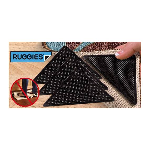 Ruggies antideslizante para alfombras (8 unidades)