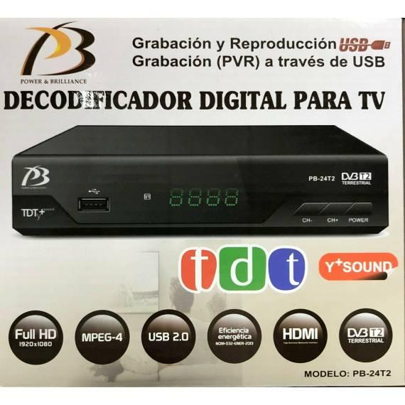Receptor TDT con mando a distancia teletienda outlet anunciado tv