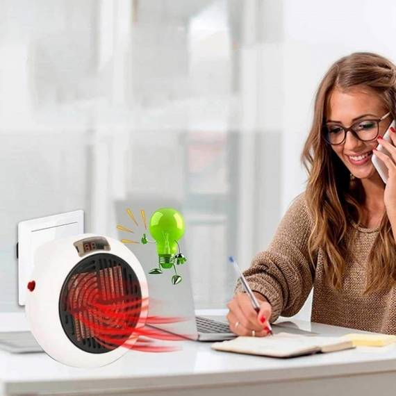 Mini calefactor sin cable Wonder Heater Pro