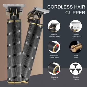 Cortapelo y Recortadora de Barba Profesional USB Precisión para lineas