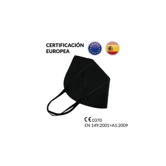 Caja de 20 Mascarillas FFP2 Negras CE 2163 EN 149:2001+A1:2009
