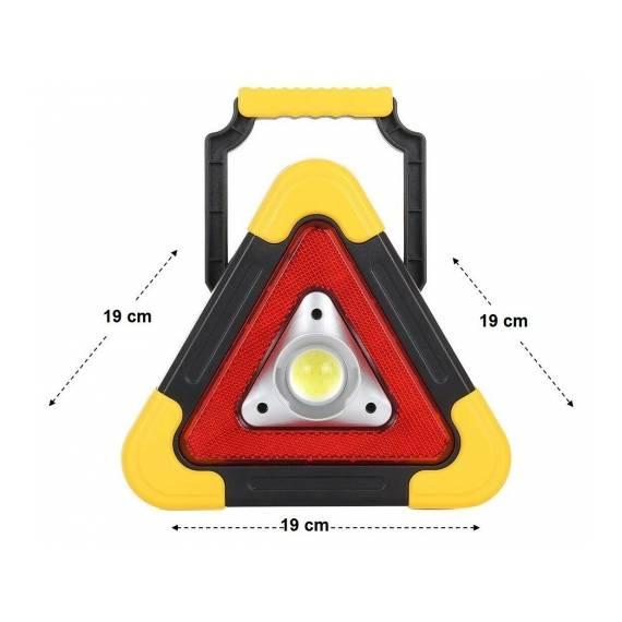Triángulo De Emergencia Con Luz Multifuncional