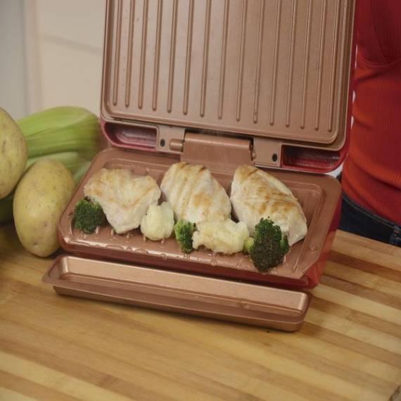 No Fat Grill - Plancha eléctrica anti grasa 1.000W