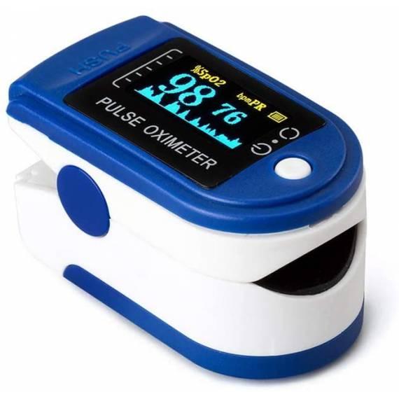 Oxímetro dedo Pulsómetro de dedo portátil con pantalla PR SpO2