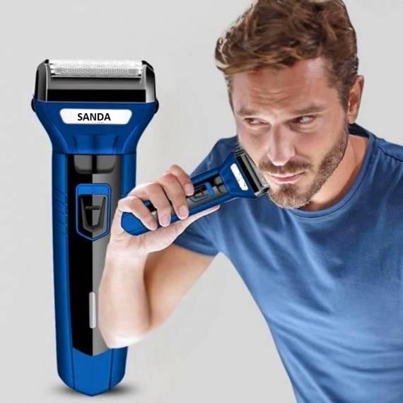 Cortapelo Afeitadora y Recortador pelo Nariz 3 en 1 Recargable SD-2360
