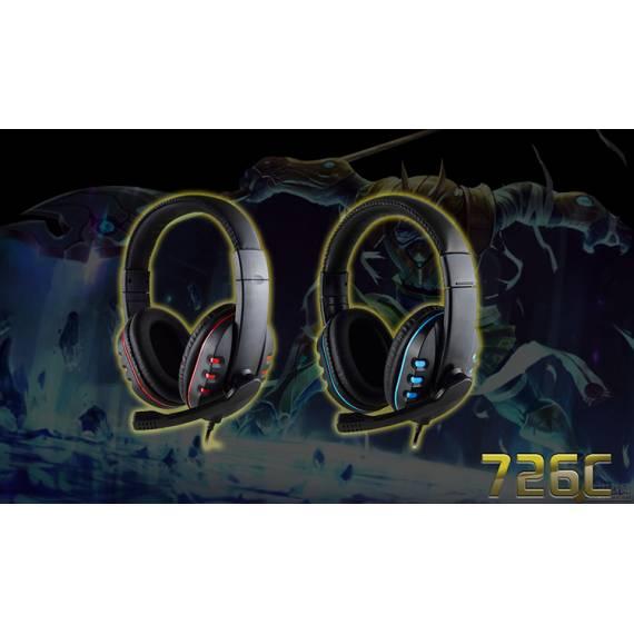 Auriculares Cascos con Cable y Micro de Gaming SD-0994