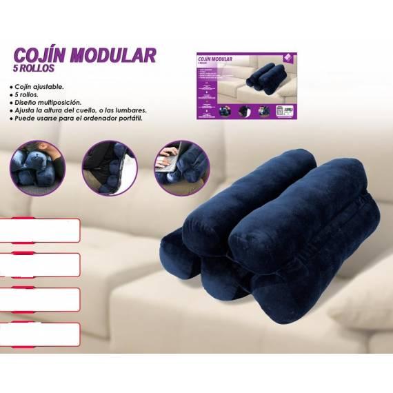 Cojín Modular 5 Rollos teletienda outlet anunciado tv