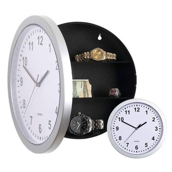 Reloj de pared con caja fuerte oculta teletienda outlet anunciado tv