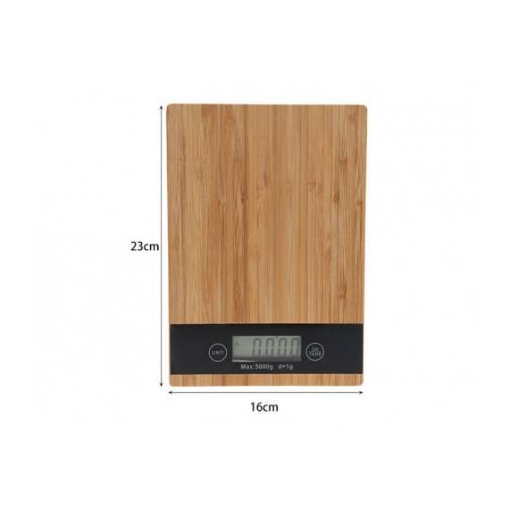 Báscula de cocina de madera SD-0227