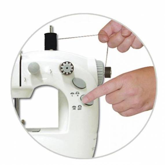 Mini máquina de coser Sew Whiz teletienda outlet anunciado tv