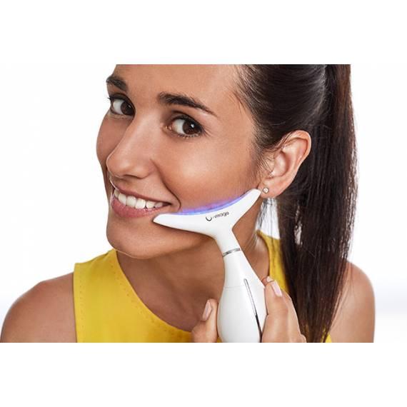 Sistema de micro-vibración y calor para el Cuidado Facial U-Visage