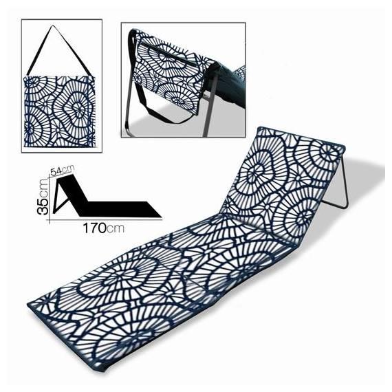 Colchoneta Esterilla acolchada con Respaldo plegable reclinable