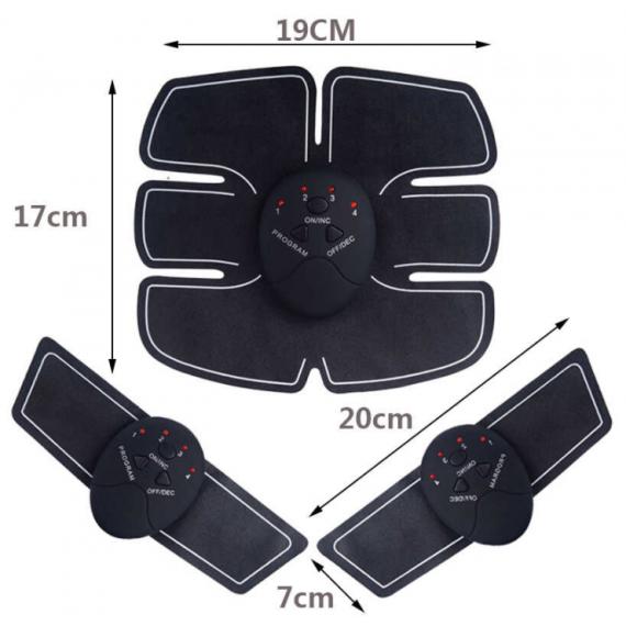 Electroestimulador para abdominales y bíceps