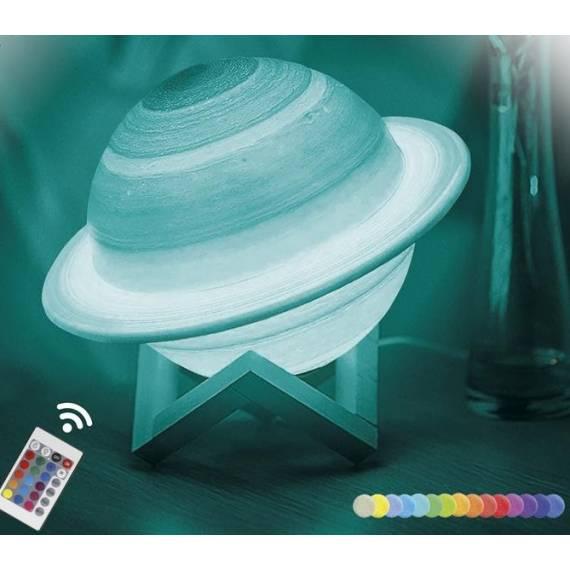 Lámpara Saturno 16 colores teletienda outlet anunciado tv