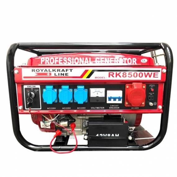 Generador De Corriente Eléctrico Profesional Grupo Electrógeno RK8500WE 3000W
