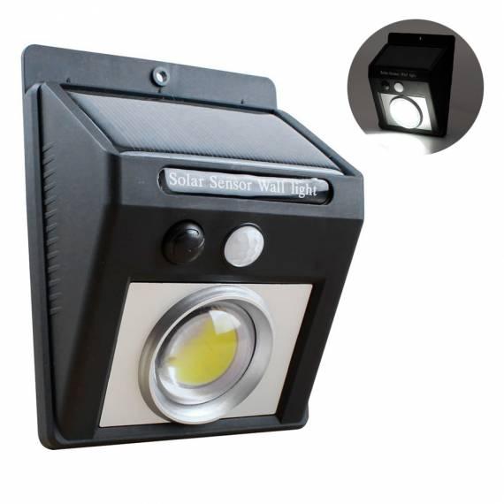 Lámpara Solar Luz Exterior COB Sensor Movimiento