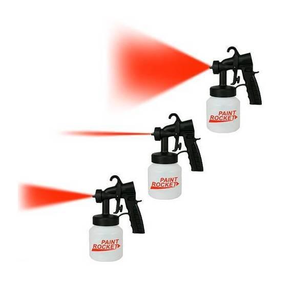 pistola para pintar paint rocket teletienda outlet anunciado en tv