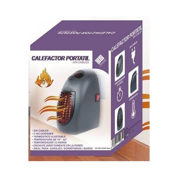 Calefactor Portátil Sin Cables